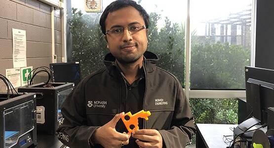 When one door opens: Monash students develops 3D printed key to prevent COVID-19 spread